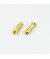 Prises PK 5.0mm males (2) - ULTIMATE - UR46110