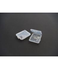 Rondelles 4x6x0.1 + 4x6x0.2 avec boîte - HIRO SEIKO - 48204