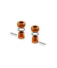Support réglable de carro alu orange - XRAY - 301351-O
