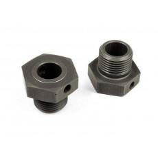 XB8 Hexagones de roue +1mm - XRAY - 355251