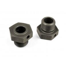 XB8 Hexagones de roue +2mm - XRAY - 355252