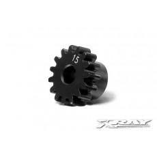 Pignon 15 dents module 1.0 - XRAY - 355715