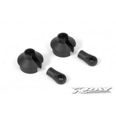 XB8 Chapes d'amortisseurs (2) - XRAY - 358020