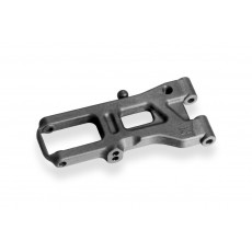 FRONT SUSPENSION ARM LONG RIGHT - GRAPHITE - 302173-G - XRAY
