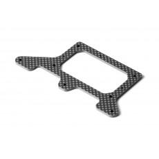 X1'20 GRAPHITE REAR POD LOWER PLATE 2.5MM - 371157 - XRAY