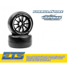 Volante F1 Front Tires MediumSoft (Carpet) - VOLANTE - VT-VF1-FMS