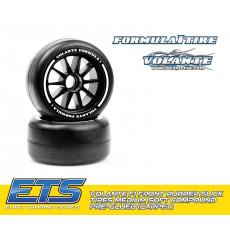 Volante F1 Front Rubber Slick Tires Soft - VOLANTE - VT-VF1-FS