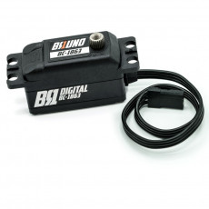 Long Wire BRUNO Low Profile Brushless Servo - BRUNO RC - BC-1863LW