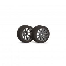 Matrix AIR 1/10 Rear Tire 30mm Carbon Shore 40 - MATRIX - MX-10P40AC