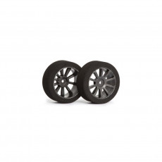 Matrix AIR 1/10 Front Tire 26mm Carbon Shore 37 - MATRIX - MX-10A37AC