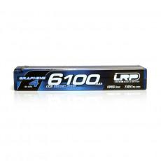 LRP HV 6100mAh 7.6V LiPo LCG Stock Spec Graphene - LRP - LRP431281