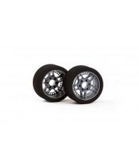 Matrix FIVE 1/8 Carbon Front Tires Shore 32 - MATRIX - MX-8A32FC