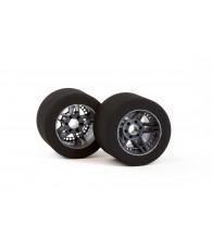 Matrix FIVE 1/8 Carbon Rear Tires Shore 35 - MATRIX - MX-8P35FC