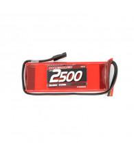 LiPo 2500mAh RX-Pack 2/3A Straight - 7.4V - NOSRAM - 943003