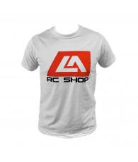 LA RC Shop T-shirt white size L - LA RC SHOP - LA-001L