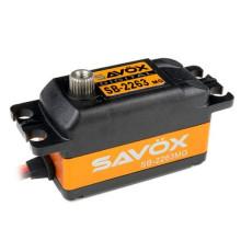 SAVOX BRUSHLESS SERVO LOW-PROFIL SB-2263MGB - SAVOX - SAV-SB2263MGB