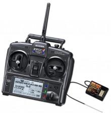 Sanwa Exzes-ZZ Stick Radio + RX-472 Receiver - SANWA - S101A32071A